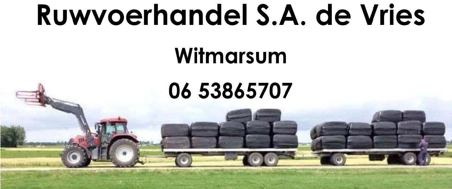 Ruwvoerhandel de Vries Witmarsum